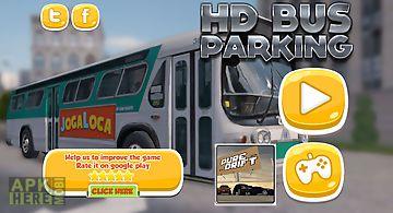 Hd bus parking