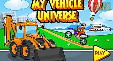 My vehicle universe