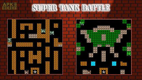 super tank battle - battlecity