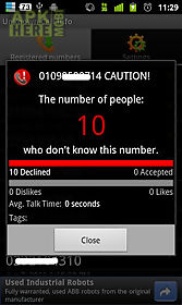 unknown call info.
