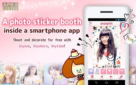 cocoprin: photo sticker app