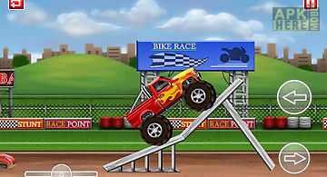 Monster truck stunt lite