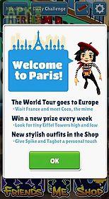 subway surfers: world tour paris
