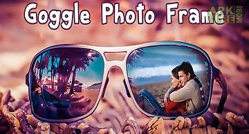 Goggle photo frame