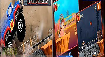 Monster trucks speed racer