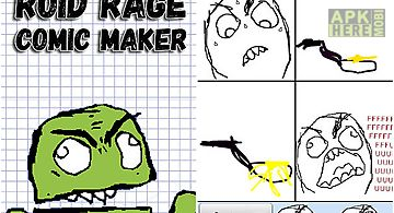 Roid rage comic maker