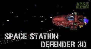 Space station defender 3d