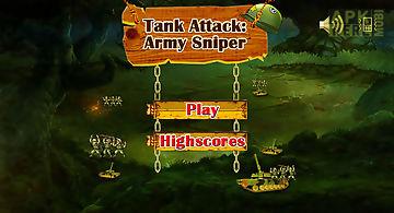 Tank attack army sniper