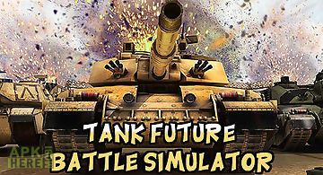 Tank future battle simulator