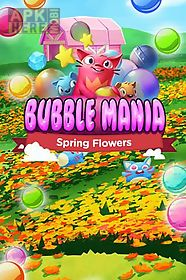 bubble mania: spring flowers
