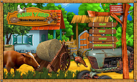 free hidden object games - barn yard