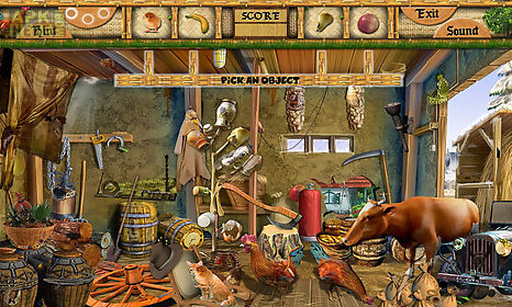 Free hidden object games - barn yard for Android free download at