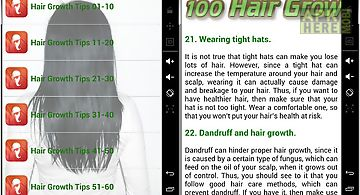 100 hair growth tips 2014