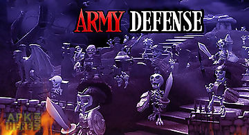 Army defense: tower game