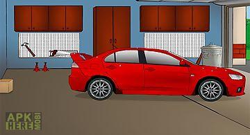 Car wash: sport car