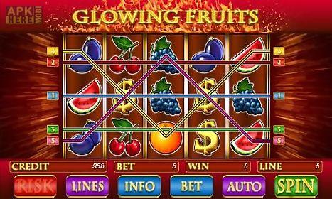 glowing fruits slot