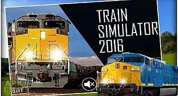 Train simulator 2016 3d