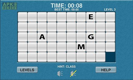 Wow word slide puzzle free for Android free download at Apk Here