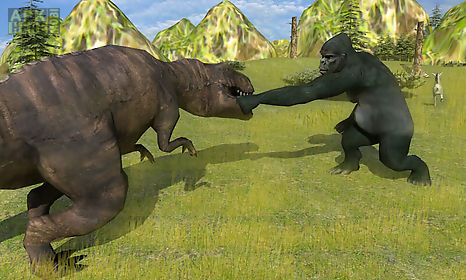 angry mad gorilla wild attack