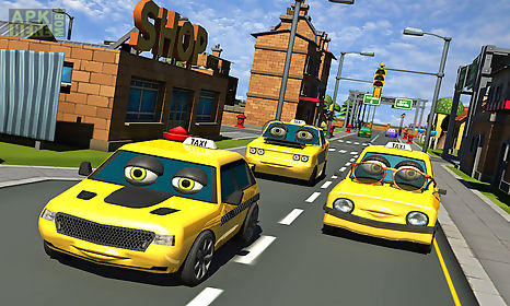 crazy talking taxi driver game