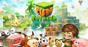 Cube skyland: farm craft