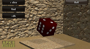 Mad dice roller 3d