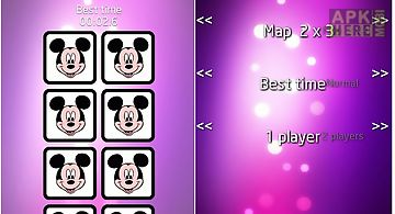 Mickey mouse memory trainer game