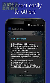 Bluetooth chat for Android free download at Apk Here store