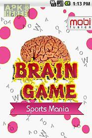 brain game sports mania