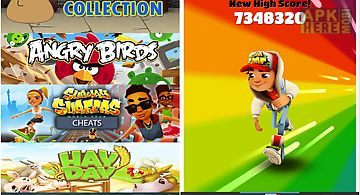 Games cheats collection