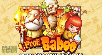 Professor baboo and the chamber ..
