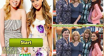 Sam and cat find differences