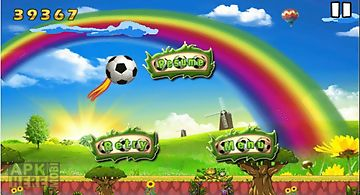 Worldcup flying ball