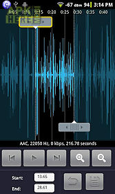 audio editor for android