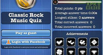 Classic rock music quiz free