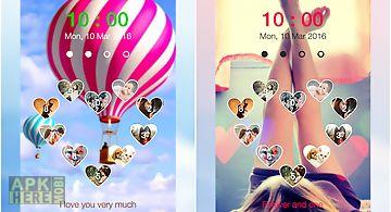 Love keypad lockscreen