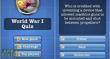 World war i quiz free