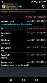 calls recall   call recorder
