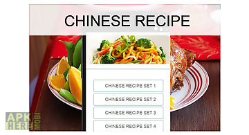 Chinese recipes for android free download at apk here store chinese recipes food forumfinder Gallery