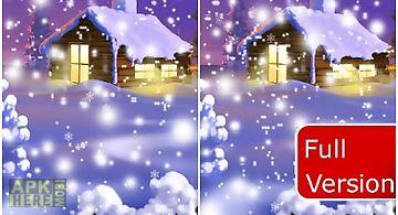 Christmas falling snow free