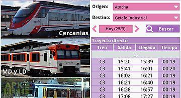 Horarios de tren