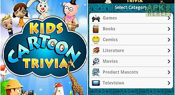 Kids cartoon trivia
