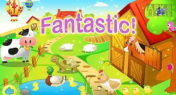 Kids jigsaw puzzles farm free