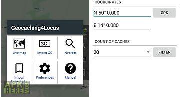 Locus addon - geocaching4locus