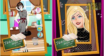 Teacher dress up - be a star