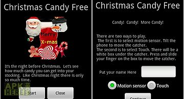 Christmas candy free