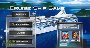 Cruise ship game : cargo sim