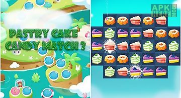 Pastry cake: candy match 3