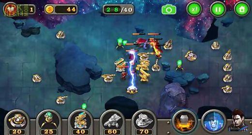 tower defense: galaxy td