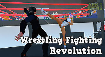 Wrestling revolution 3d for Android free download at Apk